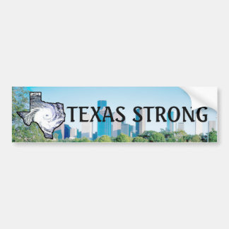 Texas Strong, Hurricane Support Bumper Sticker