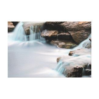 Texas Sugar Land Park Garden Silky Waterfall Canvas Print