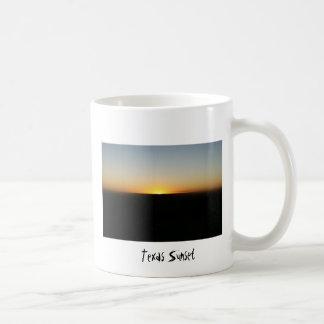 Texas Sunset Basic White Mug