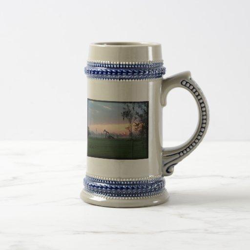 Texas Sunset Stein Coffee Mugs
