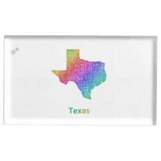 Texas Table Card Holder