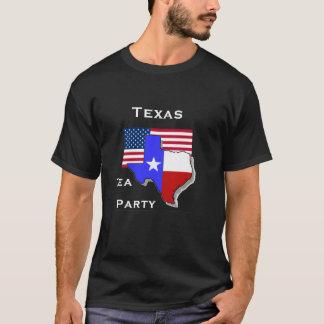 Texas Tea Party Black T-Shirt