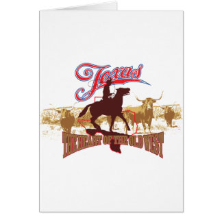Texas - The Heart of the West Greeting Cards
