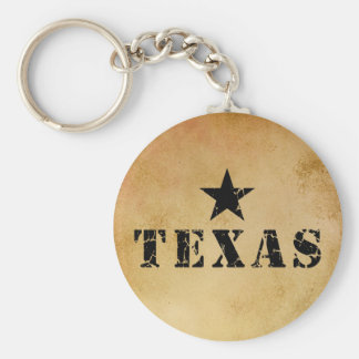 Texas, the Lone Star State Key Ring
