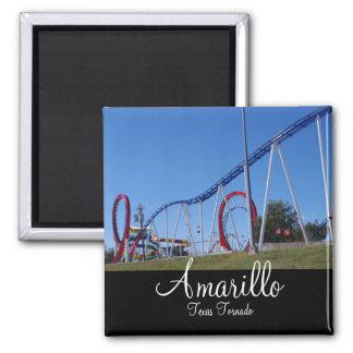 Texas Tornado Amarillo Texas Magnet