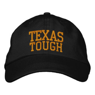Texas Tough Embroidered Hat