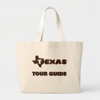 Texas Tour Guide Jumbo Tote Bag