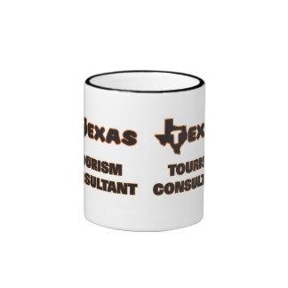 Texas Tourism Consultant Ringer Coffee Mug