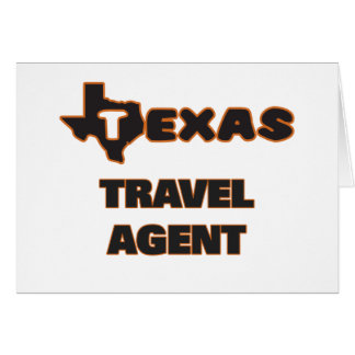 Texas Travel Agent Note Card
