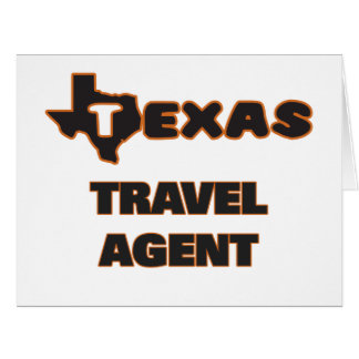 Texas Travel Agent Big Greeting Card