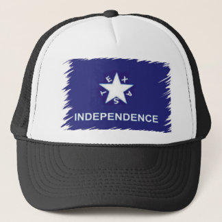 Texas Trucker for Independence Trucker Hat