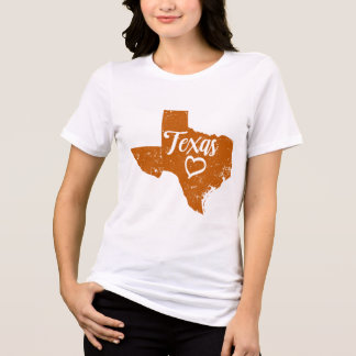 Texas TX State Love Distressed Vintage t-shirt