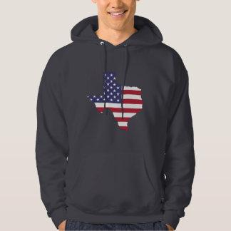TEXAS-U.S FLAG HOODIE