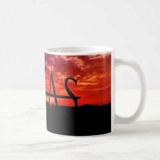 TEXAS UNDER SUNSET COFFEE MUG