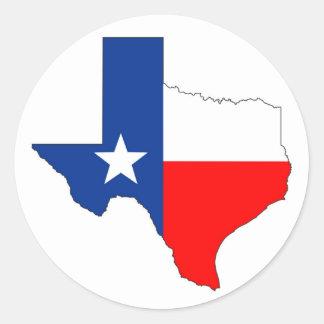 texas united states america map flag label shape