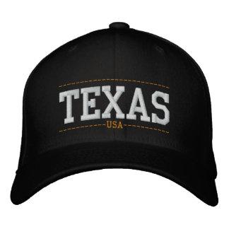 Texas USA Embroidered Zip Hats