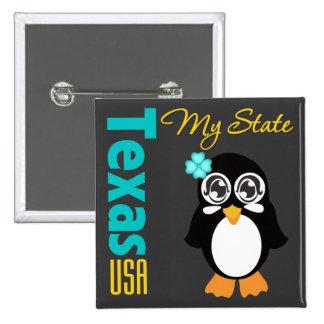 Texas USA Penguin Pin