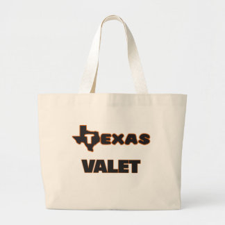 Texas Valet Jumbo Tote Bag
