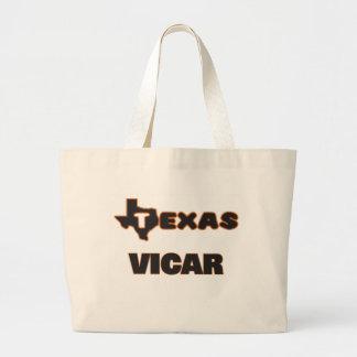 Texas Vicar Jumbo Tote Bag