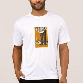 Texas Vintage Travel Poster T-Shirt