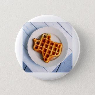 Texas Waffle 6 Cm Round Badge