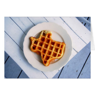 Texas Waffle Card