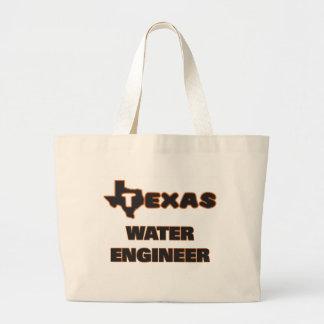 Texas Water Engineer Jumbo Tote Bag