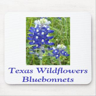 Texas Wildflowers - Bluebonnets Mousepad