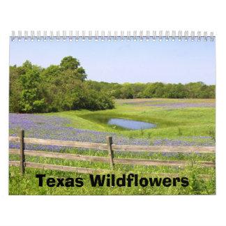 Texas Wildflowers Wall Calendars
