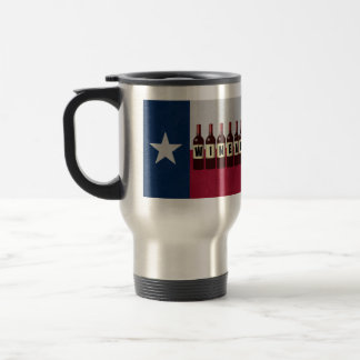 Texas Wineaux Wine Bottles: May Contain Wine Stainless Steel Travel Mug