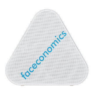 text faceconomics blue tooth speakers
