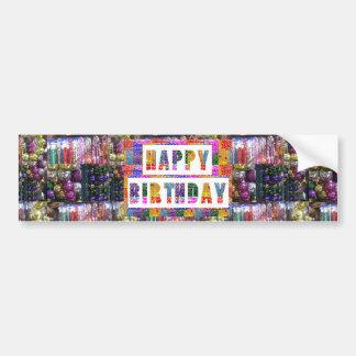 Text Greetings : HAPPY BIRTHDAY HappyBirthday Bumper Sticker