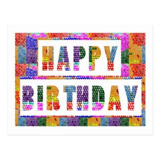Text Greetings : HAPPY BIRTHDAY HappyBirthday Postcard