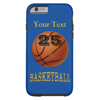 Text, Jersey Number, Colors iPhone Basketball Case