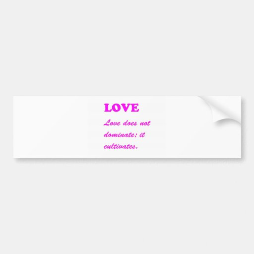text LOVE Romance Sensual Pure Hearts LOWPRICES Bumper Stickers