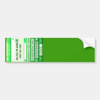 Text Me_ Bumper Sticker