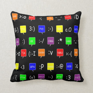 Text Me! Throw Pillow