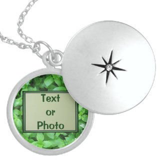 Text or Photo Necklace
