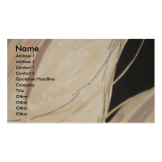 Textile (custom) Profile Card Pack Of Standard Business Cards