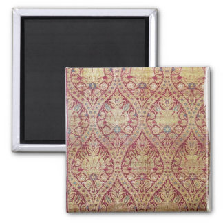 Textile design, 16th/17th century square magnet