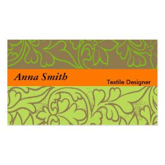 Textile Designer Business Card