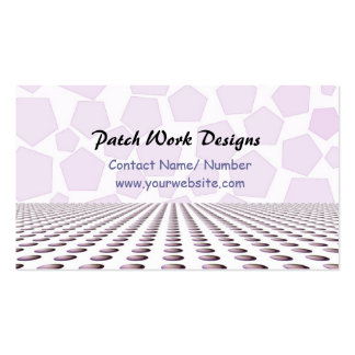 Textile Designs Pack Of Standard Business Cards