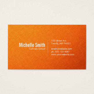 Textile Gradient Business Card