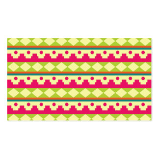 Textile Pattern Business Cards