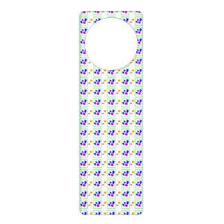 Textile Pattern Door Hanger