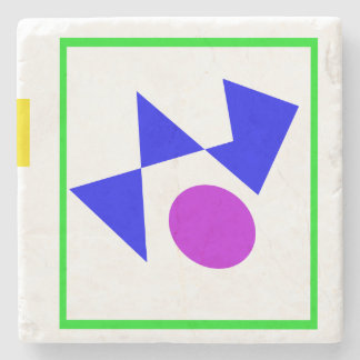 Textile Pattern Stone Coaster