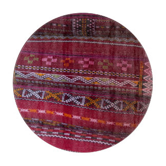 Textile Pillow Patterns Cutting Board