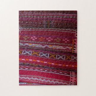 Textile Pillow Patterns Jigsaw Puzzle
