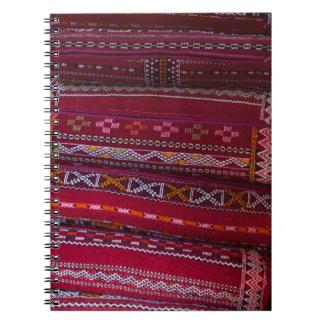 Textile Pillow Patterns Notebooks