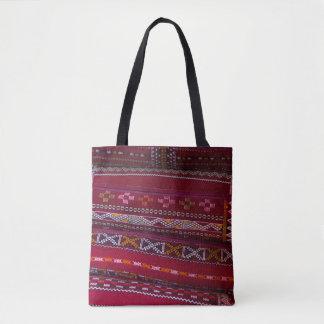 Textile Pillow Patterns Tote Bag